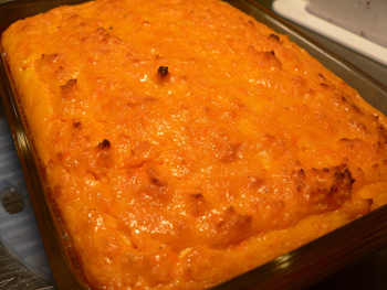 Eat Carrot Pudding