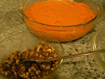 sweet potato topping